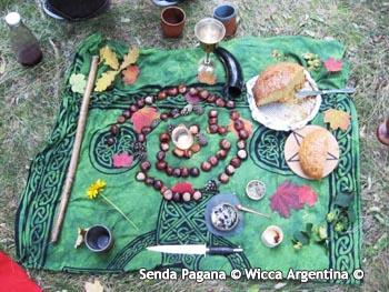 Wicca, Sabbat de Mabón, Ritual de Mabón, Ritual del Equinoccio de Otoño